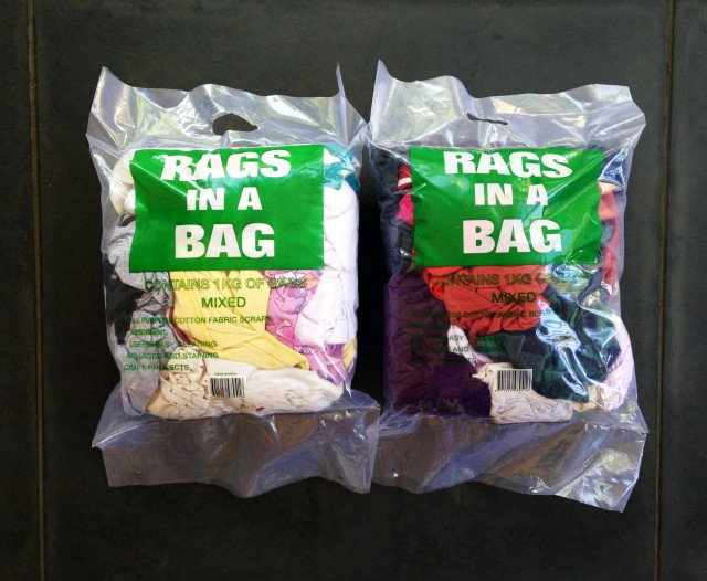 rags in a bag for her & him