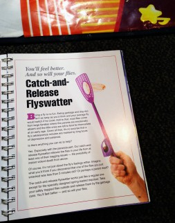 catch-and release flyswatter