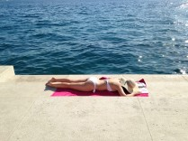body near sea