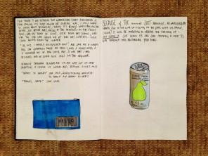 first proper art journal pencil case